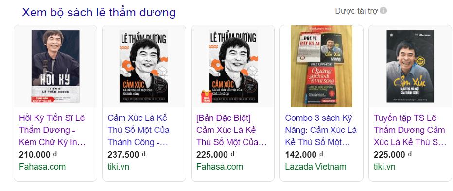 Bo Sach Tac Gia Le Tham Duong