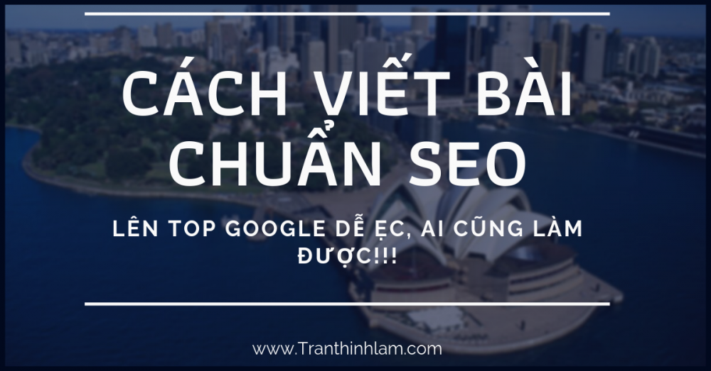 Cach Viet Bai Chuan Seo