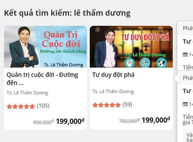 Khoa Hoc Le Tham Duong