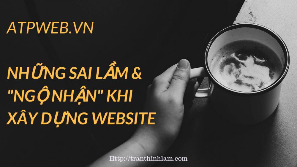 Sai Lam Khi Xay Dung Website