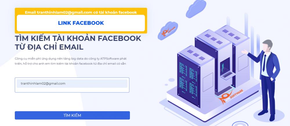 Tim Tai Khoan Facebook Tu Email