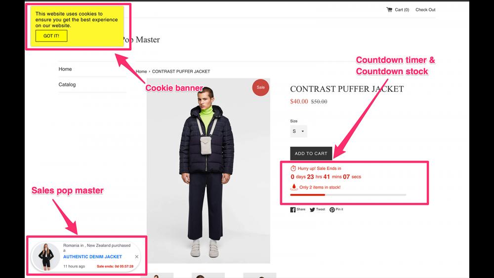 Ứng Dụng Thu Hút Khách Hàng Trên Shopify