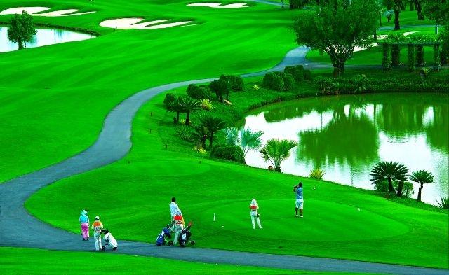 Image result for sân golf long thành