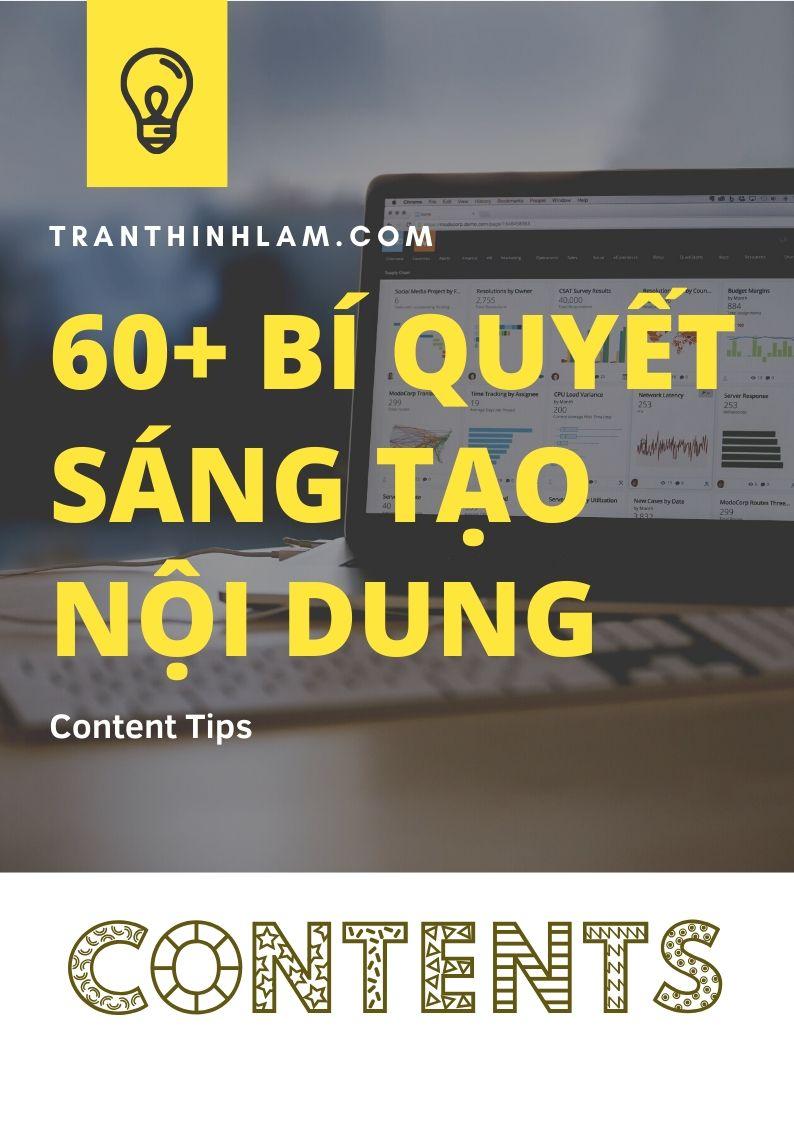 60+ Bí Quyết Sáng Tạo Content (1)