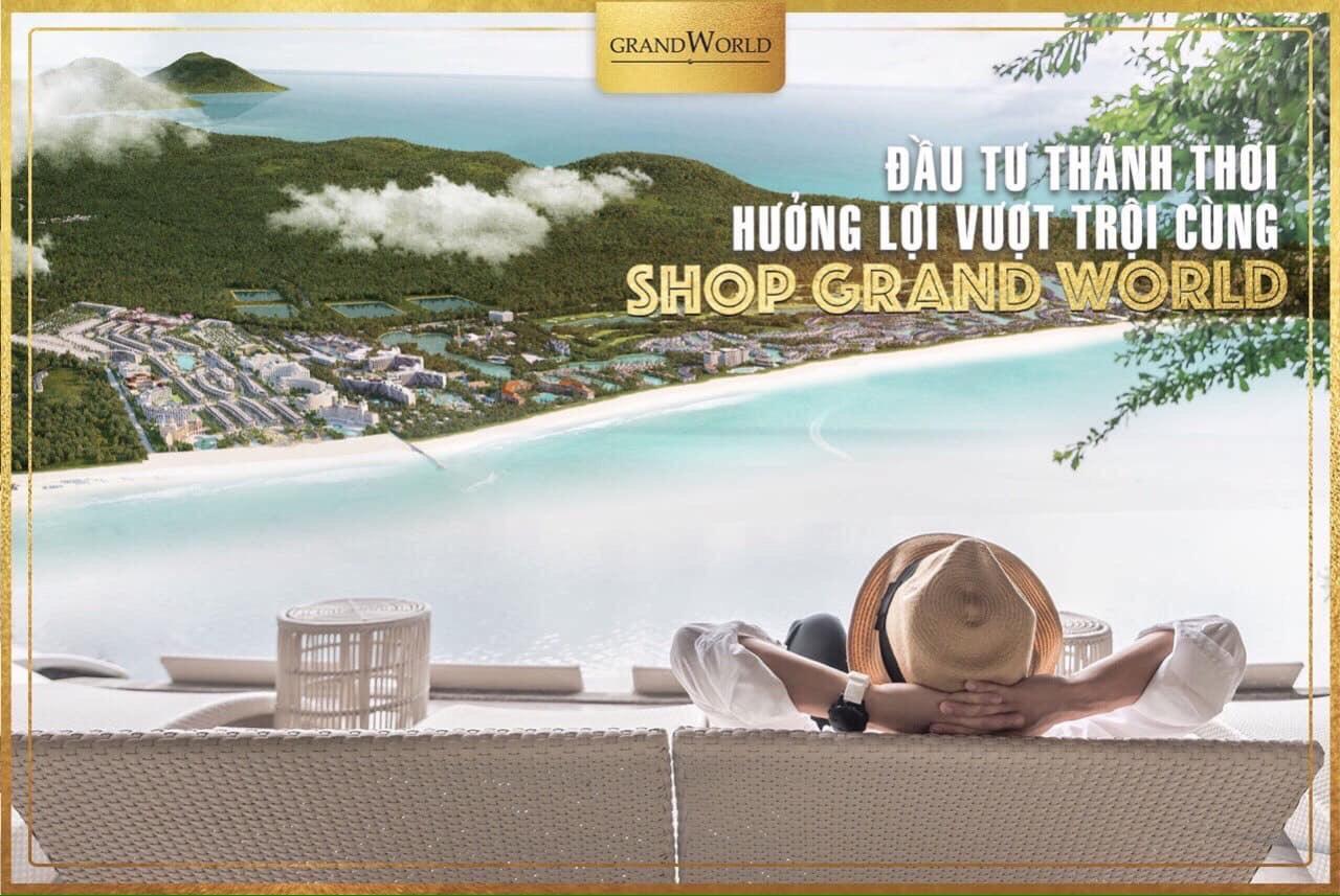 Shop Thương Mại Grand World Phú Quốc