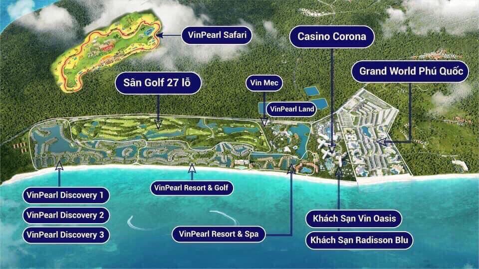 Tiện Tích Condotel Grand World Phú Quốc