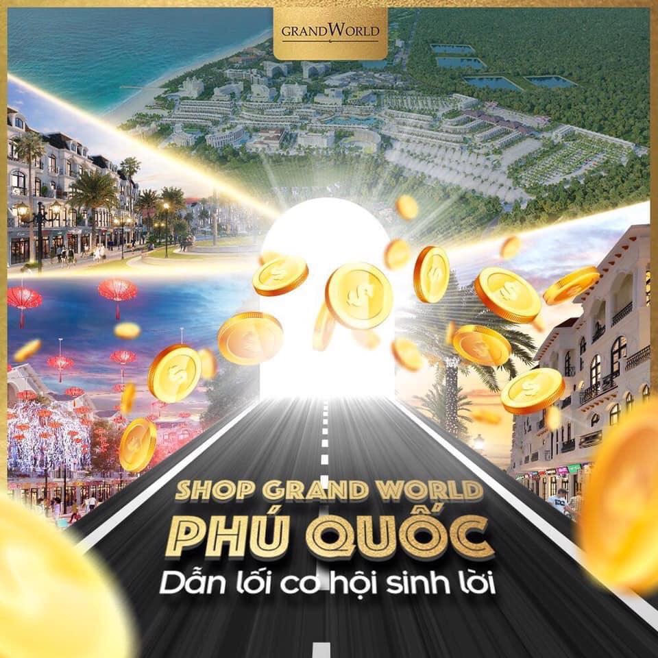 Shop thương mại dự án Condotel Grand World Phú Quốc