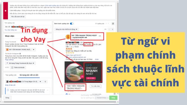 Chạy Quảng Cáo Facebook Với Hình ảnh Quá Nhiều Chữ (2)