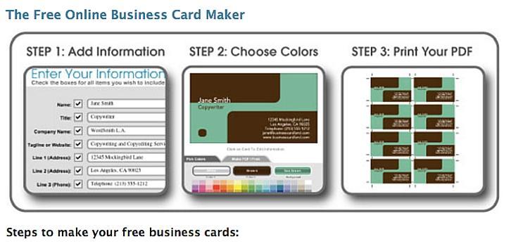 Business Card Land