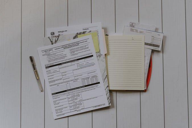 Chuẩn bị tài liệu cho bản kế hoạch kinh doanh