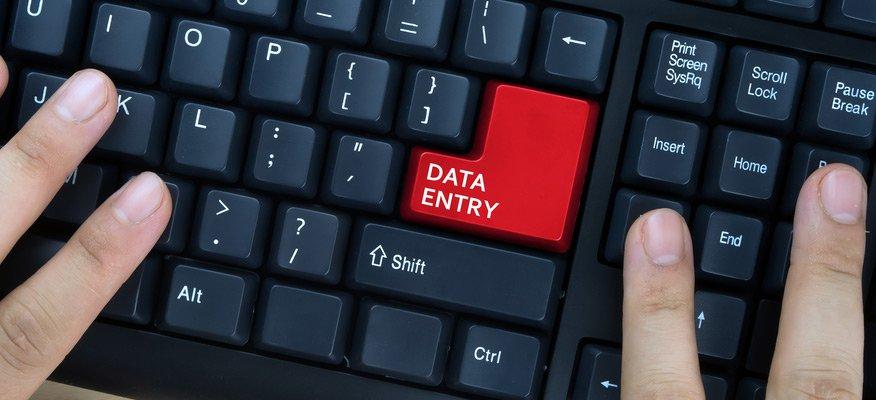 Công việc nhập dữ liệu