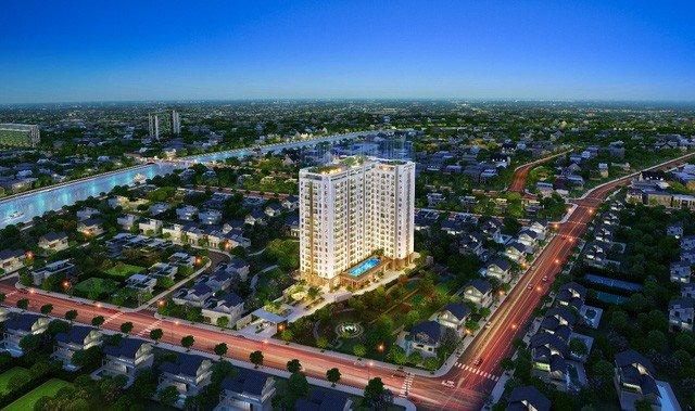 Phối cảnh chung của dự án Saigon Asiana