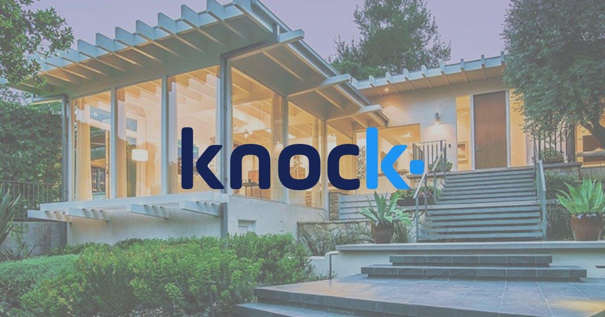 Knock.com - Nền tảng bán và mua trực tuyến tại nhà tăng 400 triệu đô la trong năm 2019