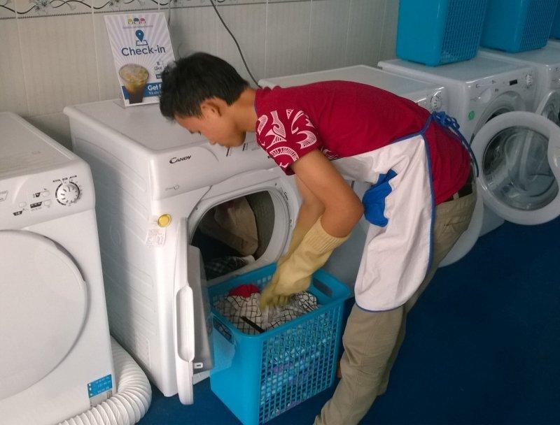 Tiệm giặt đồ