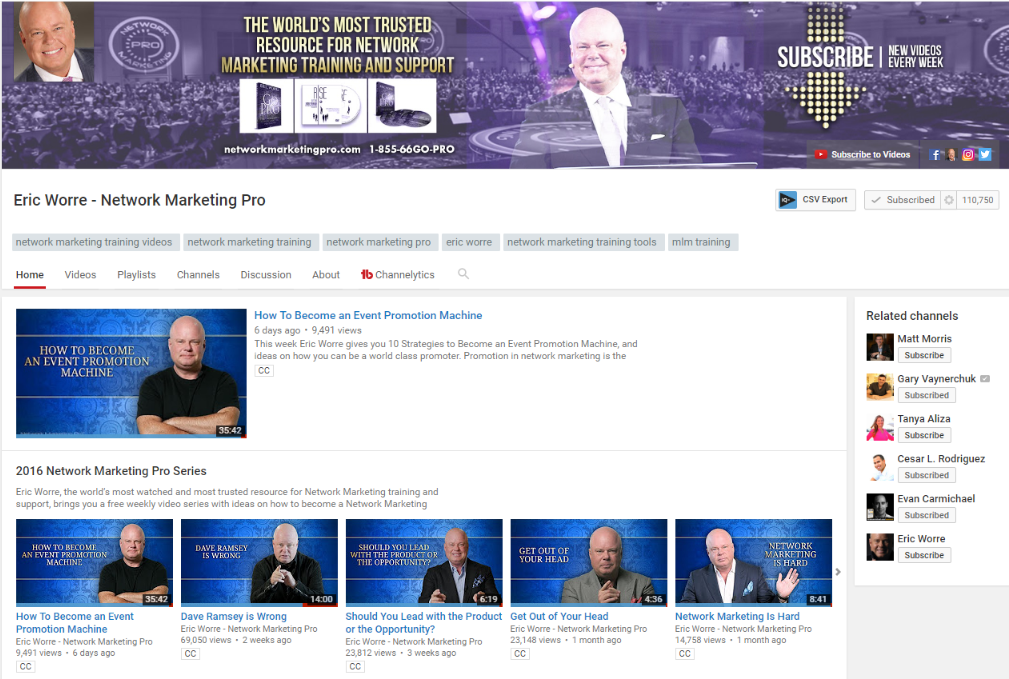 Eric Worre – Network Marketing Pro
