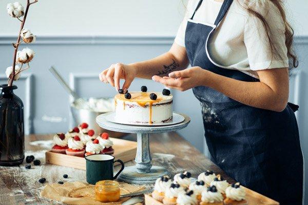 Kết quả hình ảnh cho Kinh doanh bánh ngọt