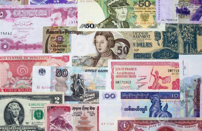 Tiền tệ quốc tế thường được sử dụng trên phạm vi toàn thế giới