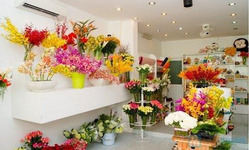 Kết quả hình ảnh cho Shop bán hoa