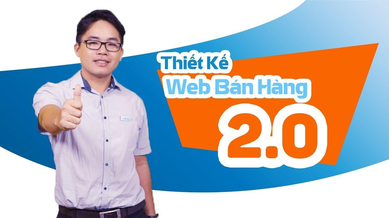 Thiết kế web bán hàng 2.0