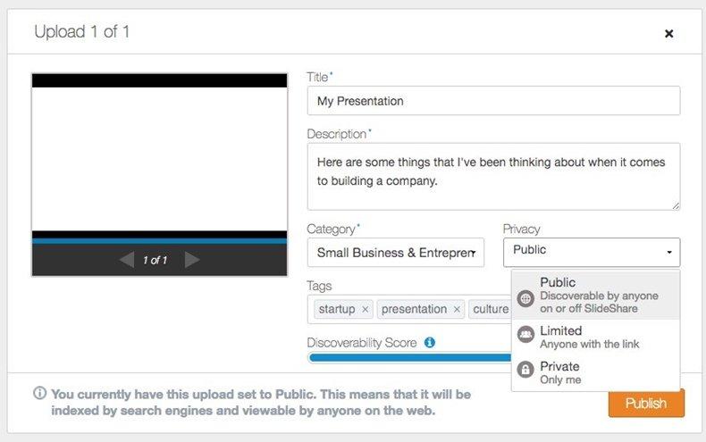 PowerPoint online với SlideShare
