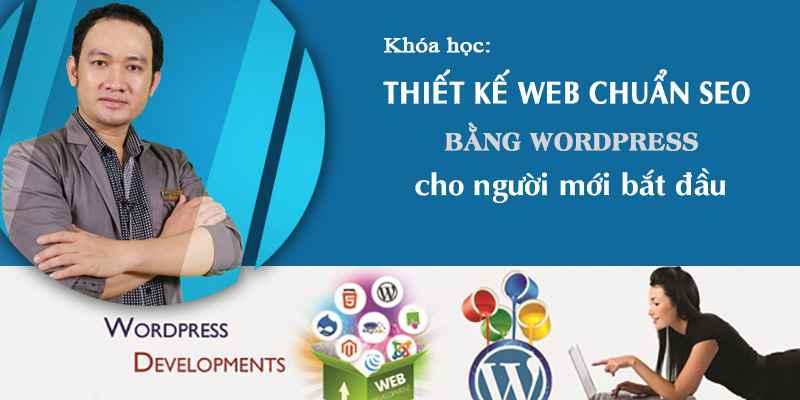 Học Thiết kế Web chuẩn SEO với WordPress cho người mới bắt đầu