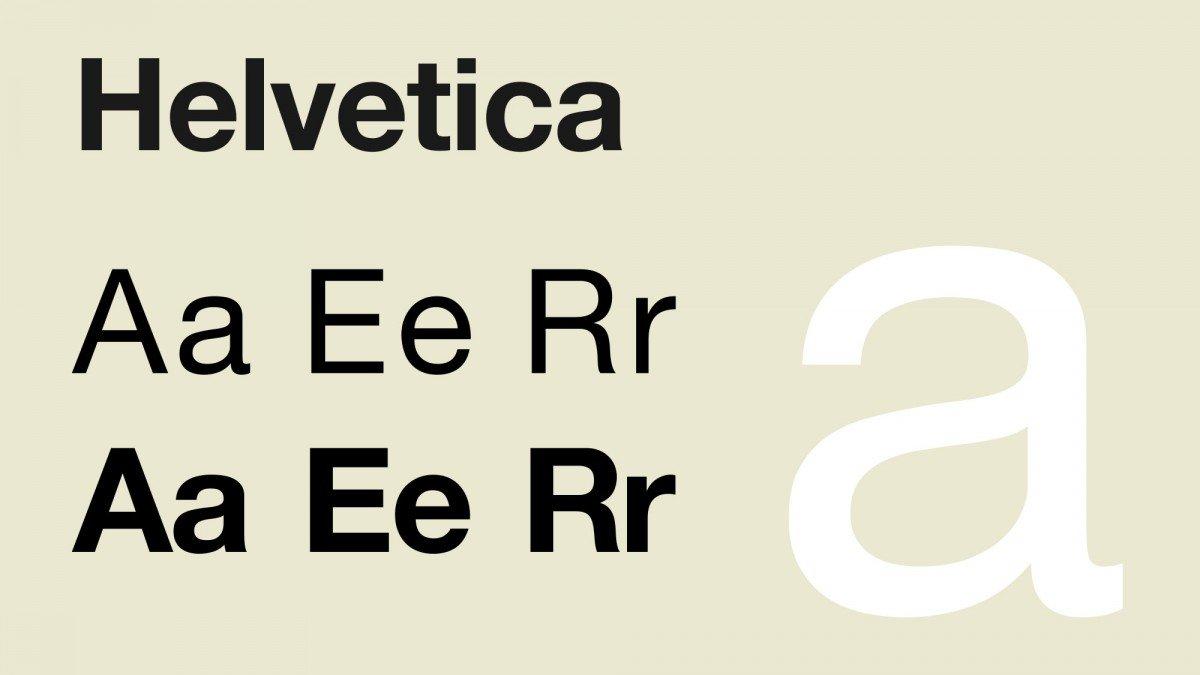 Font chữ Helvetica