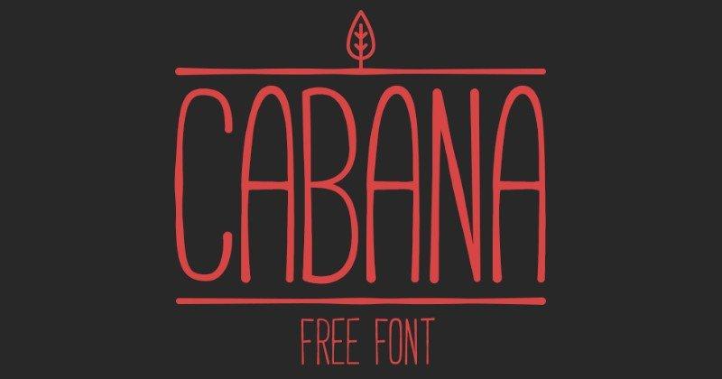 Font chữ Cabana