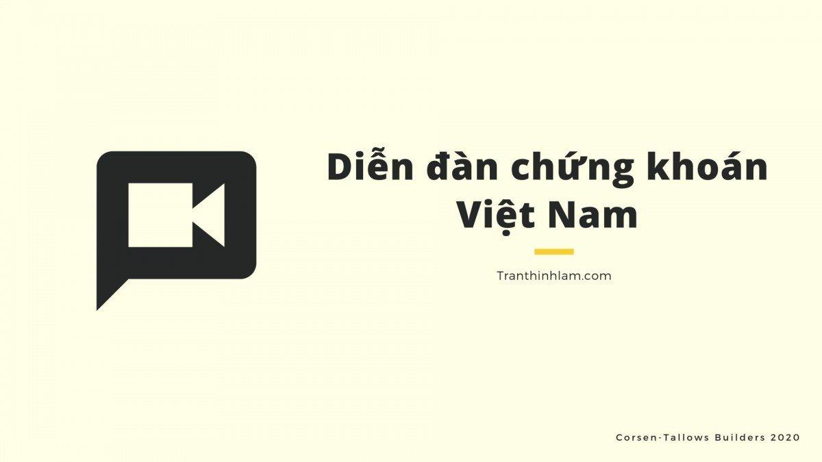 Diễn đàn chứng khoán Việt Nam