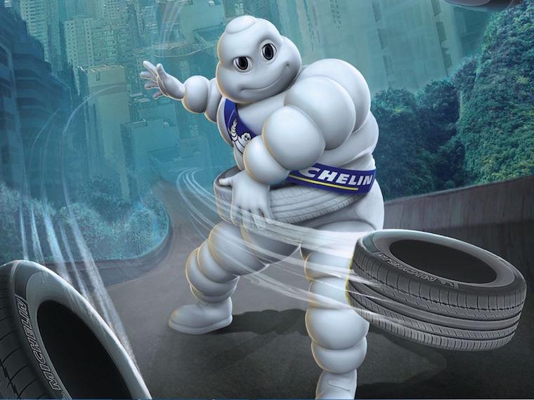 Key Visual của Michelin – Key Visual Design là gì? – Key Visual trong quảng cáo là gì? (Ảnh: Internet)