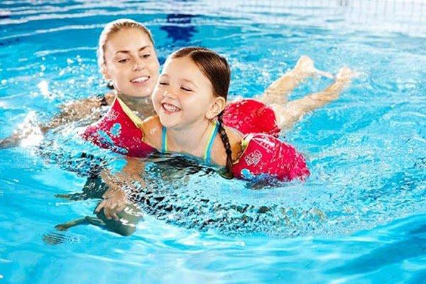 Bơi lội là bộ môn giúp tăng chiều cao hiệu quả