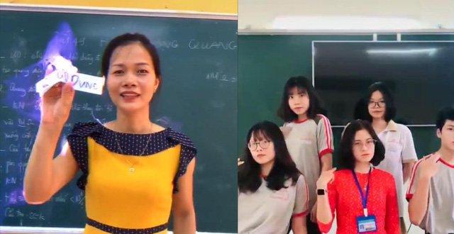 Thầy cô giáo đua nhau lên Tiktok quay clip, tưởng không ra gì thế mà clip nào cũng triệu view