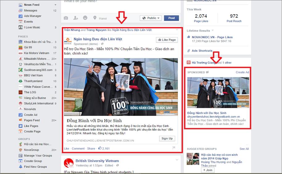 hình thức quảnh cáo facebook hình ảnh 3